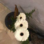 Bouquet condoléances automne hiver